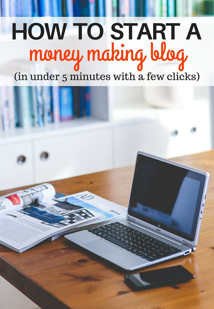 Start a money making blog in less than five minutes with just a few clicks. Step by step instruction with full images and my personal tips that have helped me make thousands of dollars blogging. Build a business, be your own boss and create the life you want doing what you enjoy.