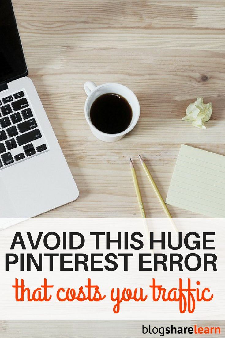 Have you ever clicked on a Pinterest picture and gotten a 404 error? Drooled over a pin of a delicious looking meal only to get a different recipe when you clicked on it, or to the home page of a website with no idea where to find what you're looking for? I know that frustration and want to show you how to avoid this Pinterest error link failure.