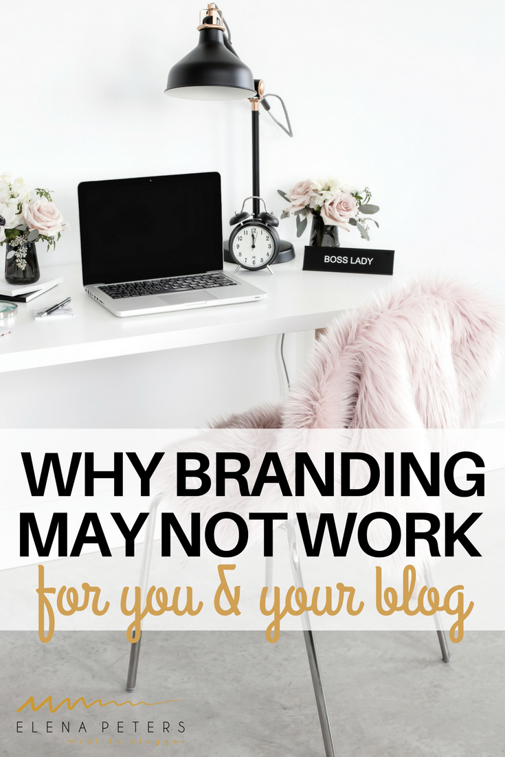 Have you seen all the posts about how and why you should brand yourself and your blog? Maybe it is not for you. Click through to ready why it may not be.