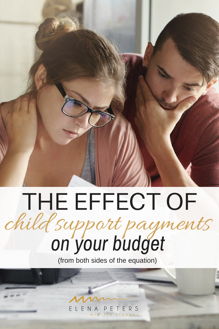 Divorced, second families have unique budgetary problems. The financial obligations of child support payments, whether you are the recipient or the payor, can be crippling. Here is the view from both sides of the equation. #budget #divorce