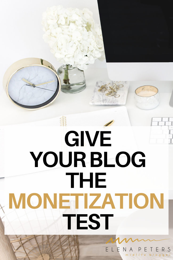 Are you struggling to make money with your blog? Take this niche monetization test to see how easily your blog converts income. #blog #blogging #makemoneyonline #monetization