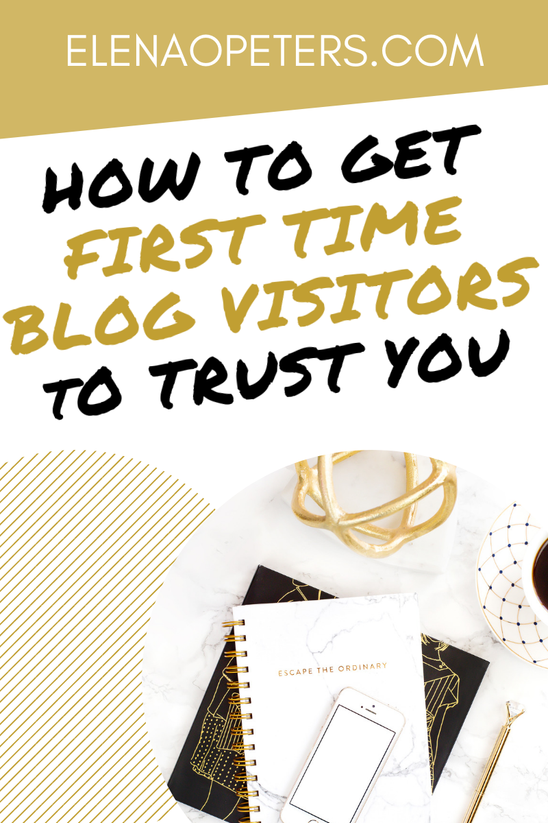 Are you having trouble getting pageviews or do you have a high bounce rate on your blog? Follow these 5 tips to gain the trust of new visitors and create a community of raving fans. #blogging