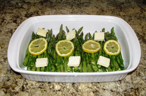 Simple asparagus side dish that taste great and healthy too
