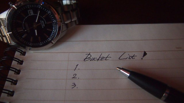 Why you should kick your bucket list for a f@ck it list