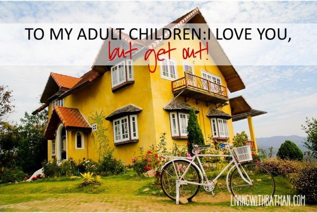 Over 40 % of adult children are living at home with parents in Canada.Can they move out & make it on their own? Maybe not,but maybe they need a little push!