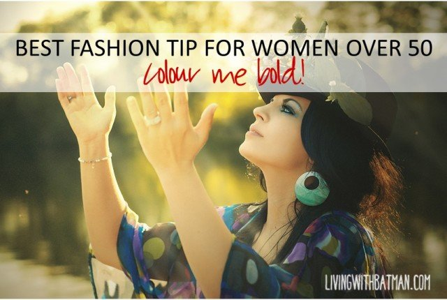 As a woman over 50,you don't have to fade into the background or feel invisible. Here is one fashion tip for women over 50 that is bound to get you noticed.