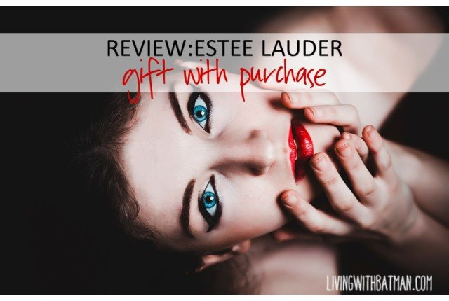 Spring promotion 2015:Estee Lauder gift with purchase review.