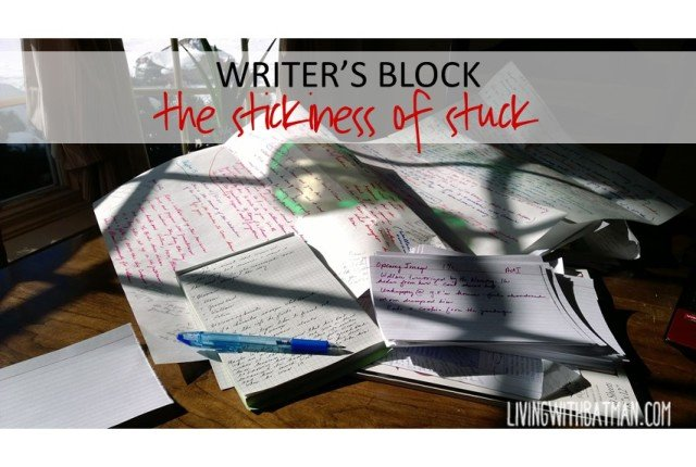 What happens when you just can't get pen to paper. Your mind is full but nothing seems to flow to the page. How do you handle writer's block?