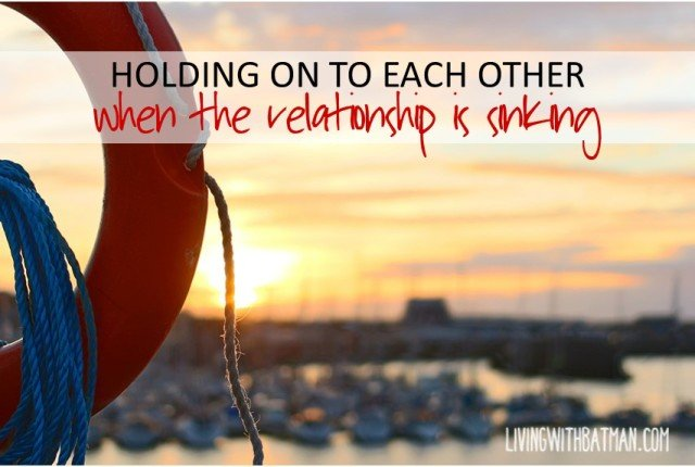 Do you feel like you are drowning in your relationship? Does it feel like you get pulled in just in time to be thrown out again?