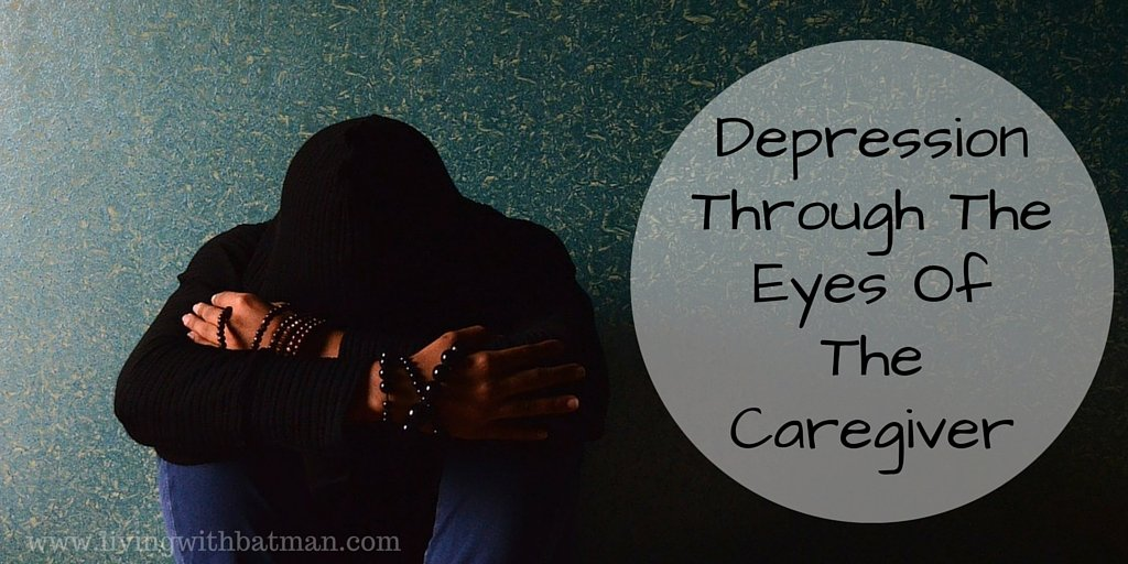 As an outsider, depression is hard to comprehend. You watch as it rips away, at everything your loved one thought they were, everything you know them to be.