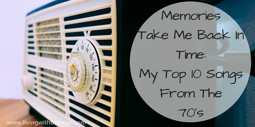 Memories come flooding back to me from the radio. The music from my youth. The music from the seventies.