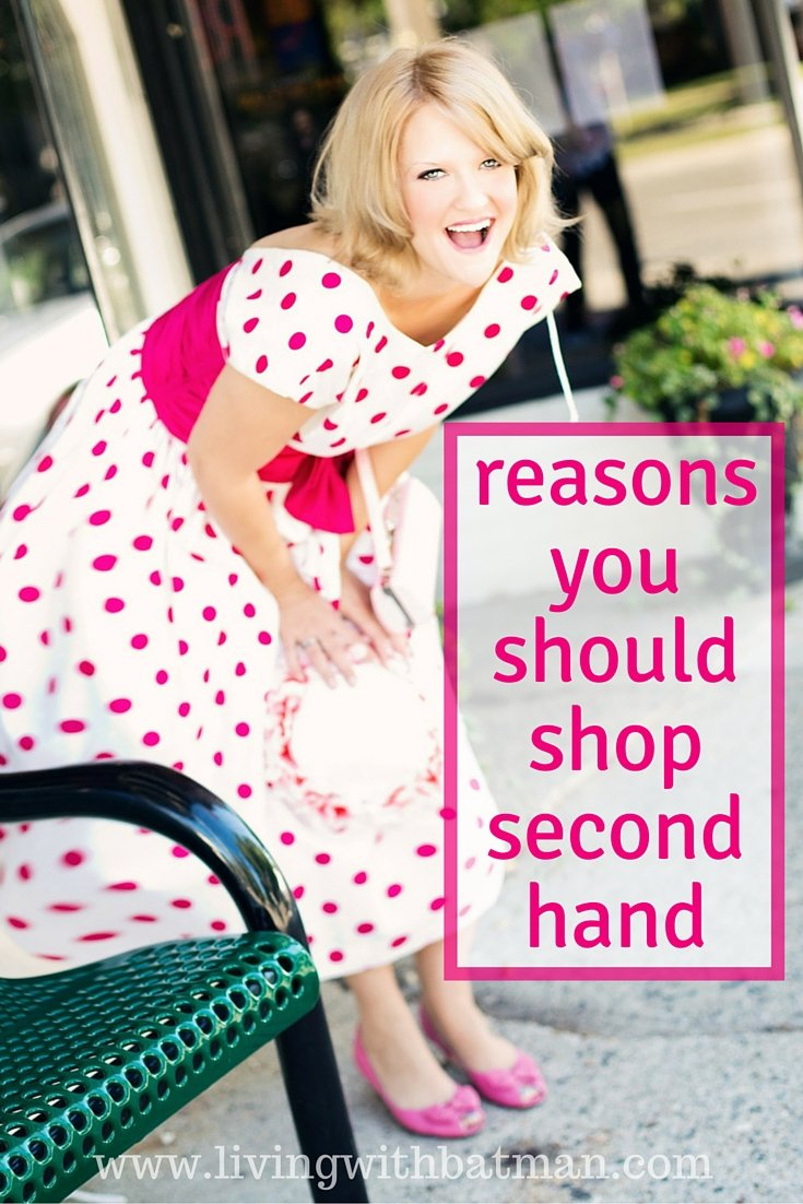 Shopping at a second hand store has more bonuses than just money savings! Check out these 7 reasons.