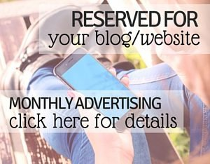 Advertising opportunities to promote your blog on my site.