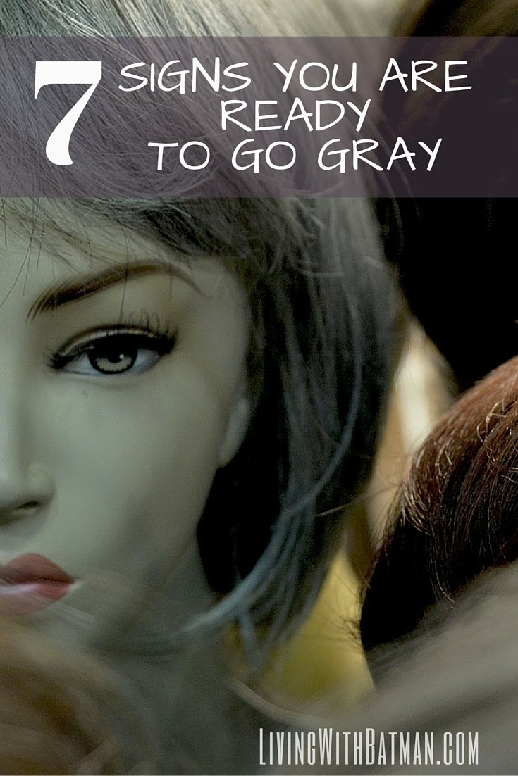 Have you been thinking about making the transition to grey hair? If any of the following reasons resonate with you, it may be your time for you to take the leap and embrace your naturally beautiful gray hair!