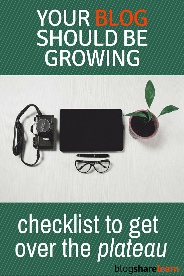 If your blog is not growing even marginally, month after month, you need to re-assess your blog, your strategies and your approach to blogging.