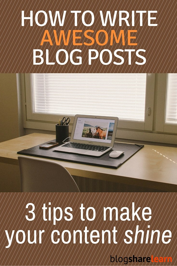 Bring more traffic to your blog and distinguish yourself from the rest! Write better blog posts by discovering the secrets of great blog content.