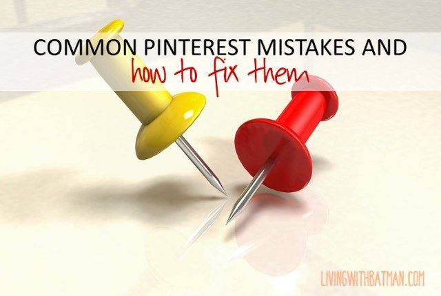 Pinterest can drive huge traffic to your blog. Correct these common Pinterest mistakes and your pins will start to send readers to your blog in droves.