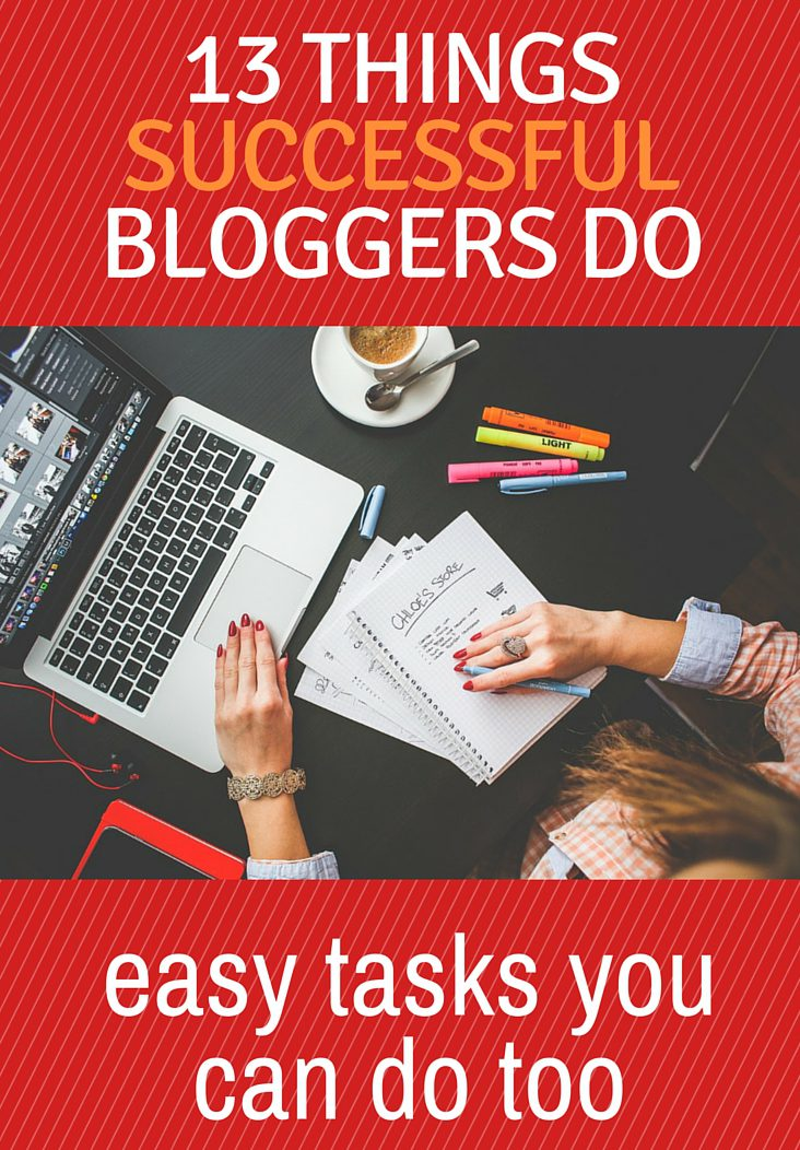 Blogging is a lot of hard work. It sometimes feels like you put in all the effort and no one is reading. Use these tips on how to be a successful #blogger. #blogging #bloggingtips