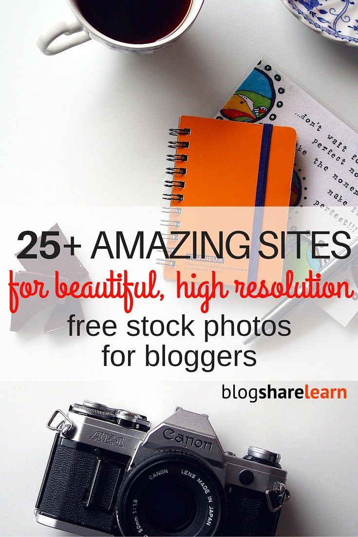 A great looking blog can reflect your brand and create a sort of ambience that makes readers want to connect with you and become a regular visitor. I have created a list of the best free stock photo sites for bloggers that I use almost every day! Every blogging niche can find amazing images on these sites to use on their blogs and to create gorgeous looking pins.