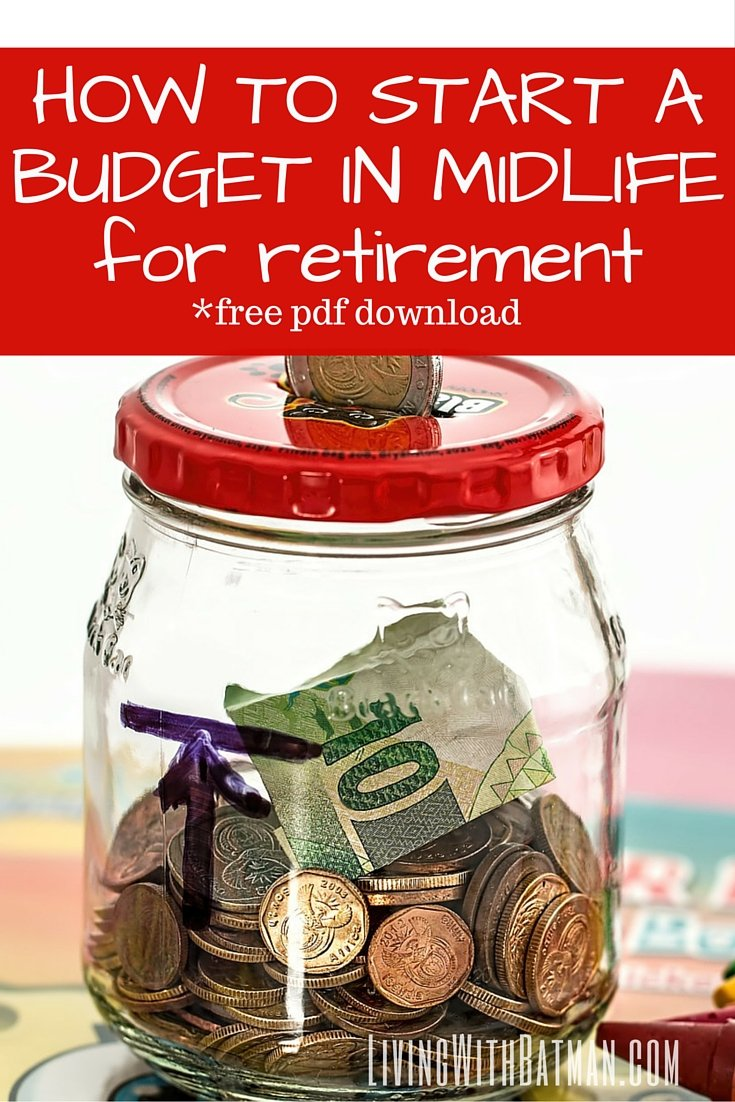Even if you have never, ever kept track of your money, you need to start a budget in midlife if you have any hopes of realizing the retirement you have dreamed of your entire life. And honestly, it doesn't have to be complicated or mega restricting. All you have to do is prepare for and make adjustments BEFORE you work your last day. It is not too late. And I promise you, it is not as painful as it sounds.
