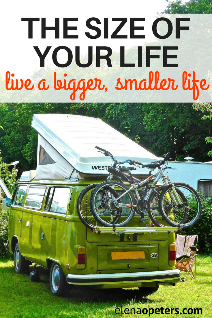 Are you ready to live a bigger, smaller life? Let me introduce you to a couple that has downsized to an RV and are travelling the country in their retirement.