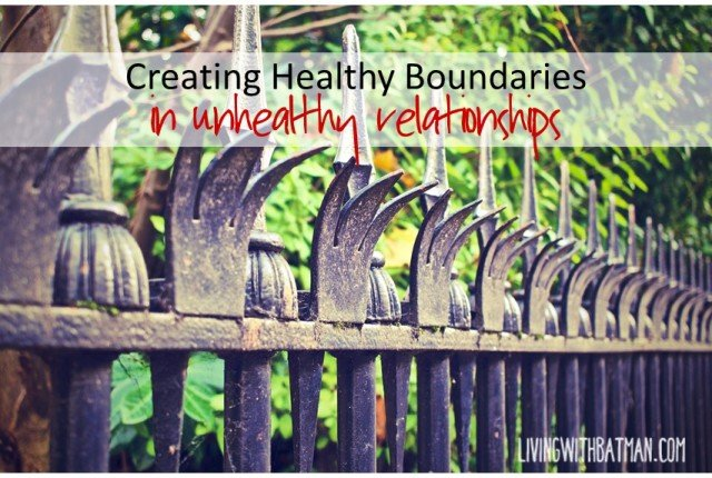 Sometimes it is not so simple or easy to eliminate toxic people from your life. Use my personal strategy for creating healthy boundaries.