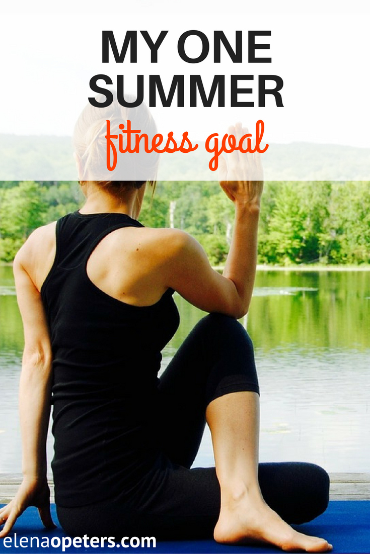 It time to start thinking about having to get into skimpier clothes. Here are my summer fitness goals.