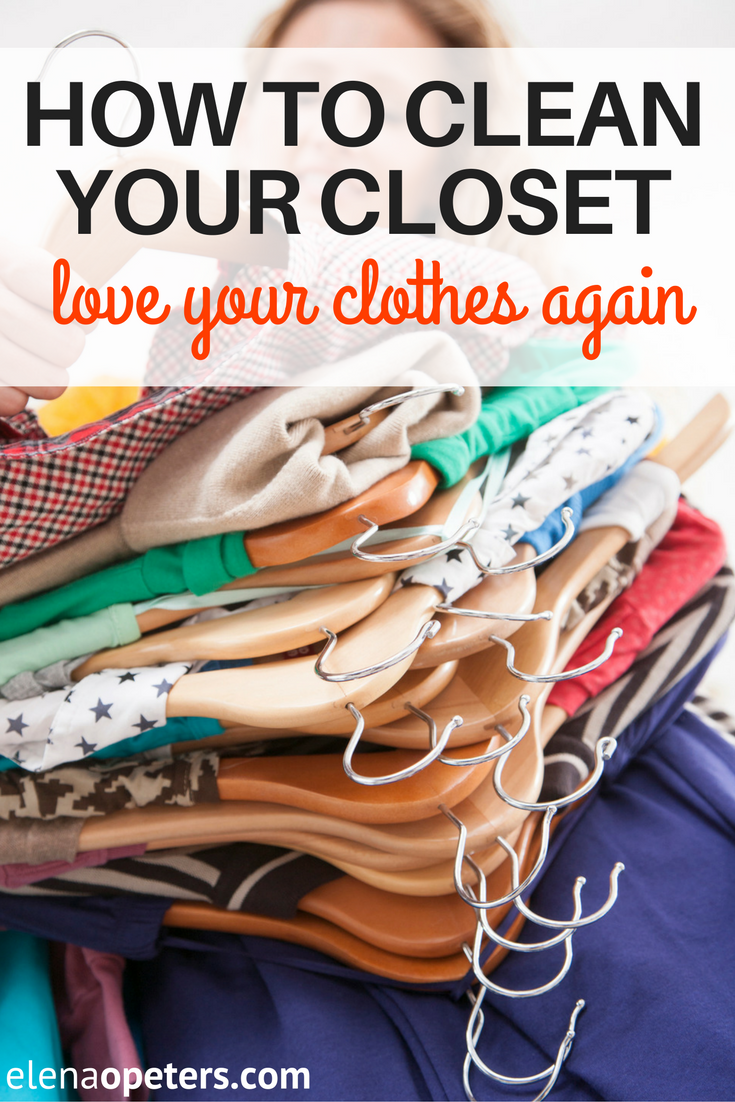 Sometimes you just can't see the forest thru the trees. Cleaning your closet can help you discover buried treasure. 5 steps to love your clothes...again.