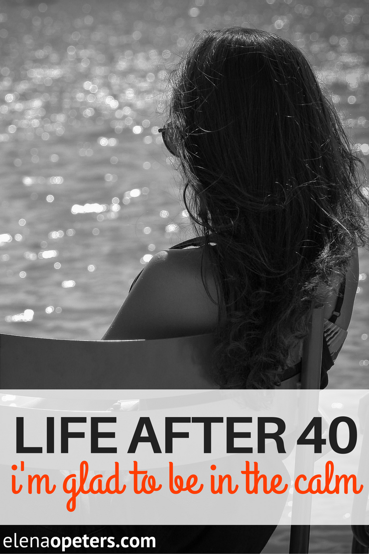 Life after 40 for a single girl. Things have certainly changed from a decade ago but I'm glad to finally be in the calm. Guest post from sknny&single.