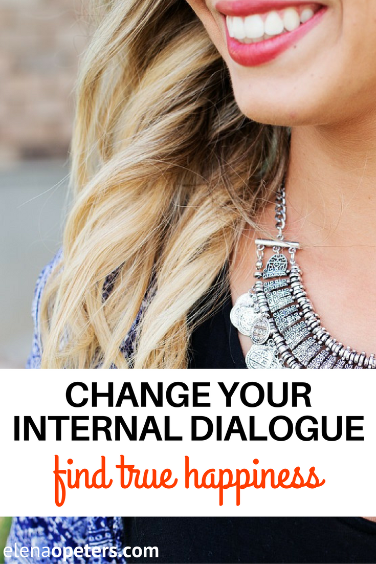 Change your internal dialogue with these simple 5 steps and find your true happiness in midlife.