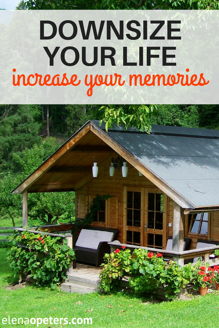 Is your home a huge money drain? Maybe you need to downsize your house and increase time and money spent on building memories.