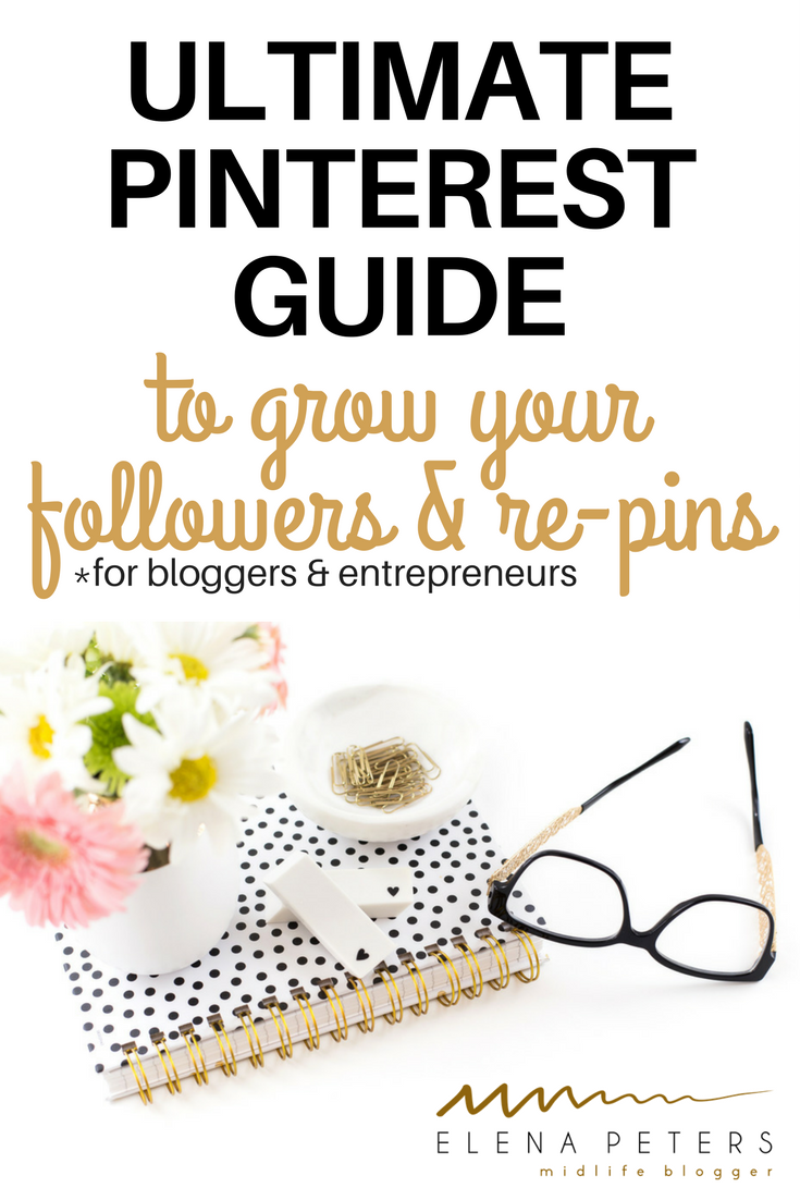 The ultimate in Pinterest tips! How to get followers on Pinterest (and drive traffic back to your website) if you are a blogger, business owner, or entrepreneur.