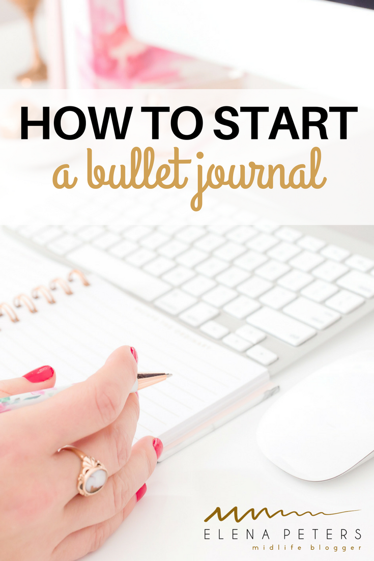 If you love the idea of a bullet journal but are unsure how to start or feel over-whelmed, check out this blogger's bujo.