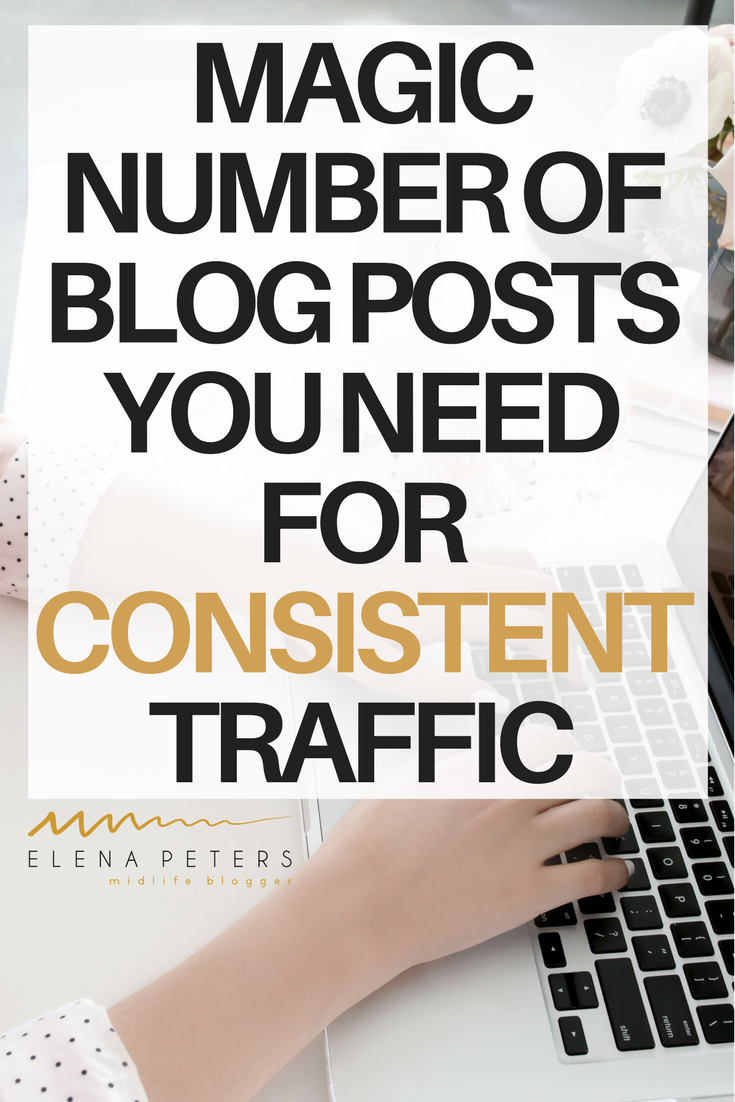 In my opinion, there is a minimum number of posts your should have on your blog before you will see consistent traffic without constant promotion