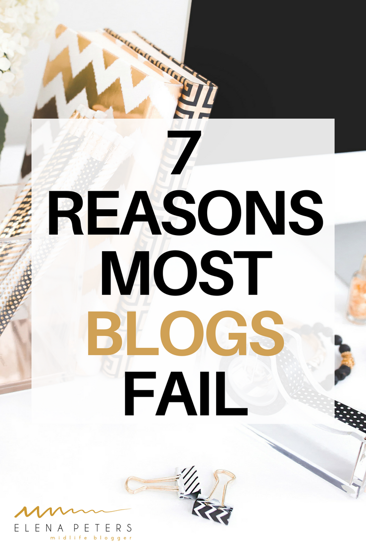 If it seems like no matter how much time and effort you spend on your own posts and promotion, traffic and engagement just keeps falling flat, you may be doing some of these 7 things that are responsible for most blogs failing. It's time to tackle these reasons head on and make a mind shift so you can start to get your blog on the path to success.