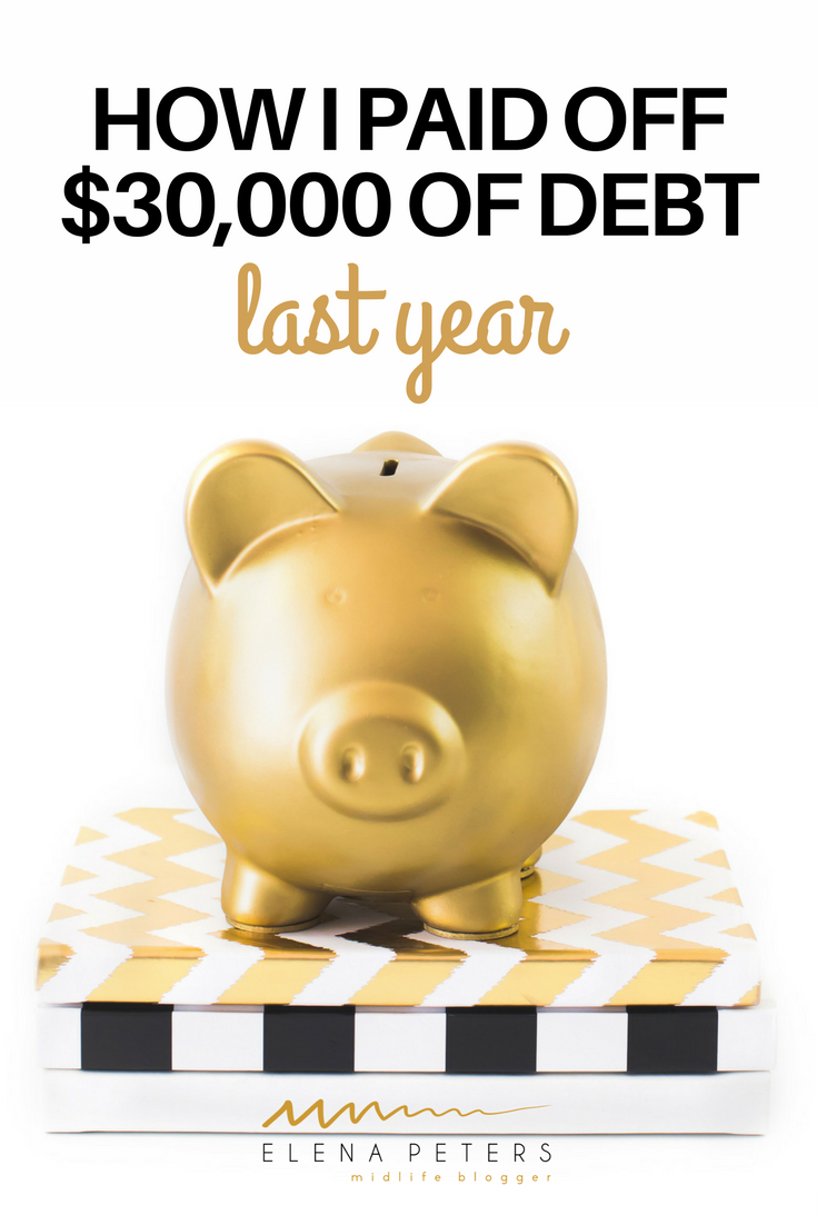 Are you interested in paying down debt? Here's how this blogger paid off $30,000 in debt in just one year! Yes, it is possible to do this! Click