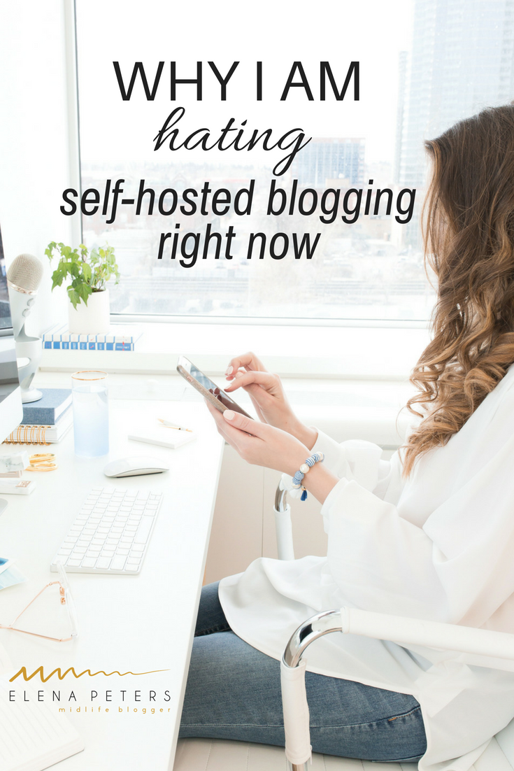 It really seems to me that self-hosted bloggers are getting kicked in the ass right now. We just want to write and make a few bucks on the side. We are not trying to scam anyone. Most of us follow all the rules. Most of us are honest. Why does it have to be so hard? #blogging