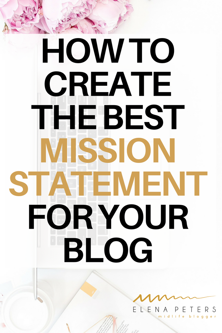 If your blog is not gaining followers or traffic, you should review your niche and mission statement. Don't have one? Click through for help crafting one. #blogging