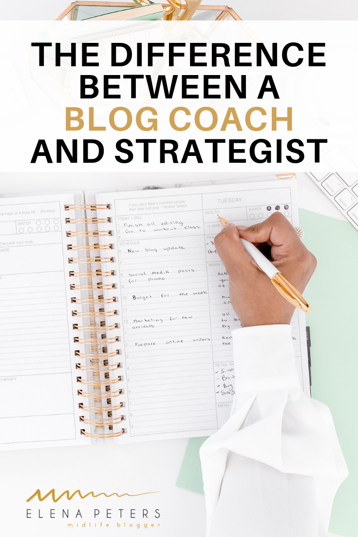 Have you read a ton of posts and purchased blogging courses and still not seeing results? If you are wondering if it is time to hire a consultant, consider the difference between hiring a blog coach and a blog strategist. Check out this informative guest post by Amber of the Lunar Woman. #blogging #coach