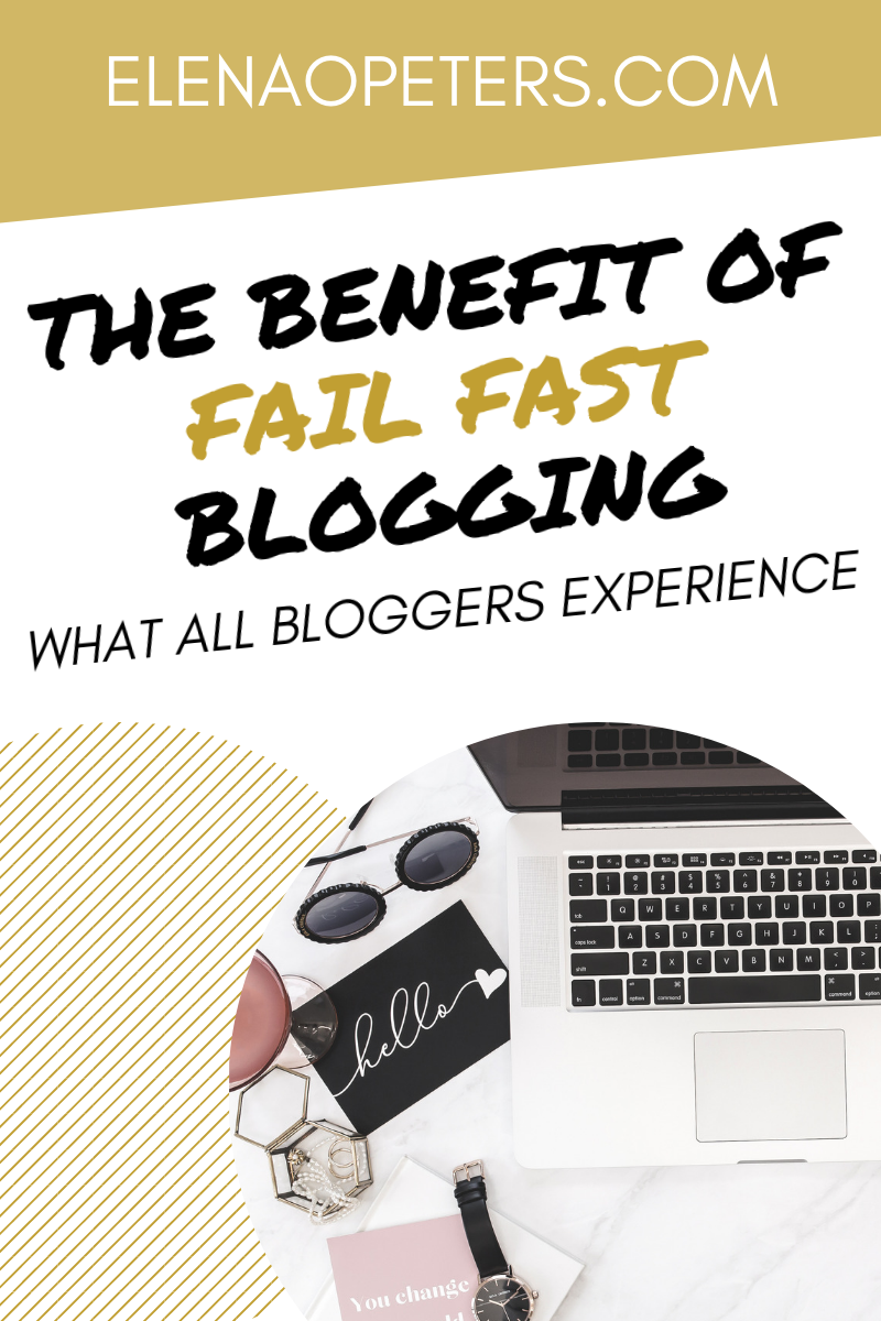 The path to blogging success is not a straight line. Failures will be a part of your journey. And it isn't so bad! #blogging #makemoneyblogging