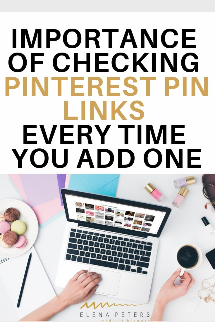 Not seeing the traffic you would like from Pinterest? Click through to see why you should be checking your pin link URL's. #socialmediamarketing