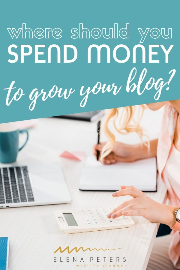 At some point in your blogging journey, you will feel stagnated and stuck. Here are 5 ways to wisely spend your money to grow your blog.