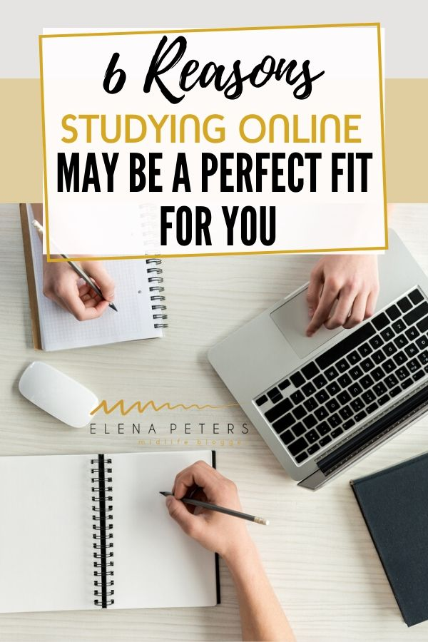 Studying online, otherwise known as eLearning, has many advantages. Click through to see if it is a perfect fit for you to continue your education.
