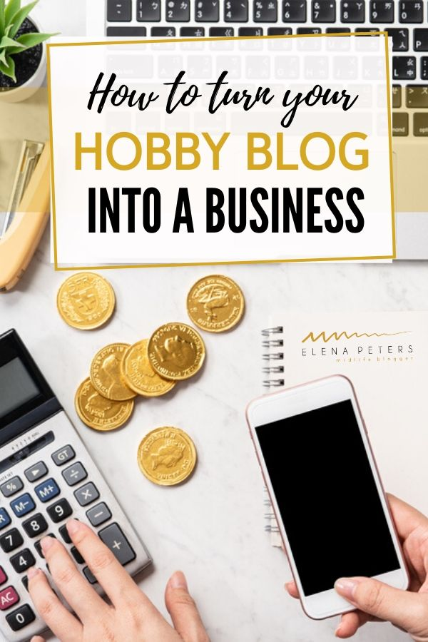 Want to turn your hobby blog into a business? Here are 5 simple steps to get you on your way.